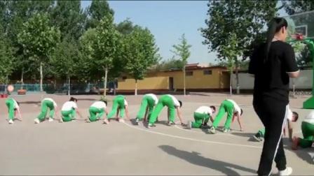 《蹲踞式起跑》优质课(科学课标版五年级体育,王晨晨)