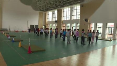 《跨越式跳高》优质课(三年级体育,江苏省市级优课)