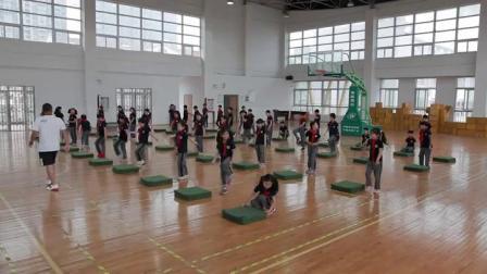 《技巧:连续前滚翻  游戏:起重机》优质课(苏教版体育二年级,徐亚明)