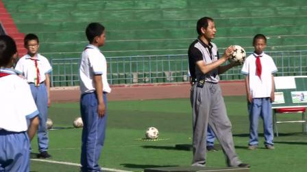 《肩肘倒立》优质课(科学版五年级体育,朱兴亮)