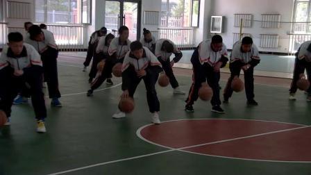 《篮球基础练习》优质课(人教版初一体育与健康,孙呈鹏 )