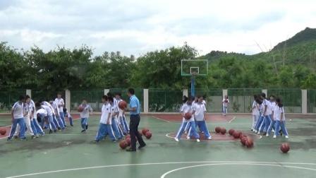 《篮球球性练习》优质课(人教版初一体育与健康,成石雄)