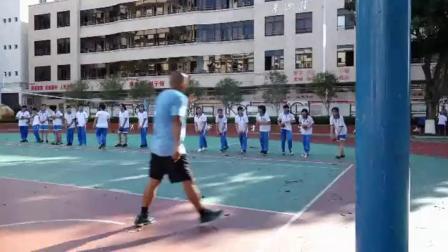 《篮球-运球上篮》优质课(人教版初一体育与健康,刘贤亮)