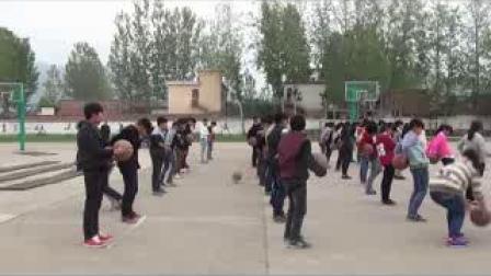 《篮球-进行间运球投篮技术》优质课(人教版初一体育与健康,杨自强)
