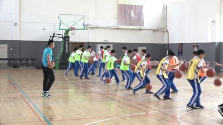 《篮球-原地单手肩上投篮》优质课(人教版初一体育与健康,王守年 )