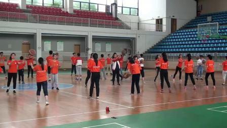 《双手胸前传球》优质课(人教版初一体育与健康,江苏省市级优课)