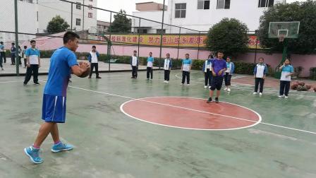 《双手胸前传接球》优质课(人教版初一体育与健康,贵州省市级优课)