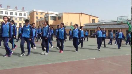 《双手胸前传接球》优质课(人教版初一体育与健康,内蒙古自治区市级优课)