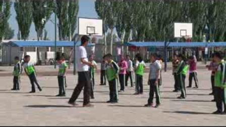 《立定跳远》科教版三年级体育,酒泉市县级优课