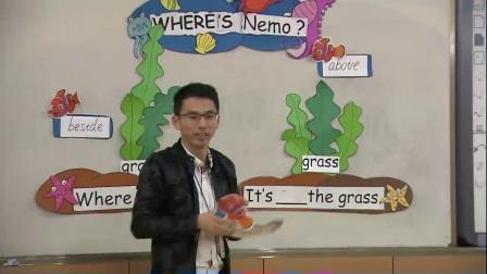 人教版英语五上第五单元《Let's learn Find and say》课堂教学视频实录-沈利达
