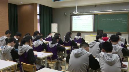 人教版英语九年级Unit10SectionBReading课堂教学视频实录-徐莹莹
