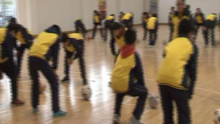 《足球-脚内侧踢球》人教版初一体育与健康,宣城市县级优课