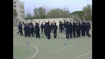 《足球-脚内侧踢球》人教版初一体育与健康,李长银