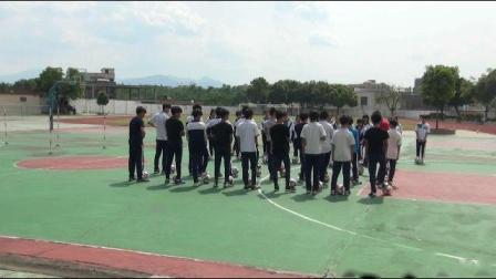 《足球-脚内侧踢球》人教版初一体育与健康,黄友俊