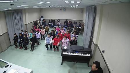 湘教版一年级音乐律动《滑雪》优质课视频