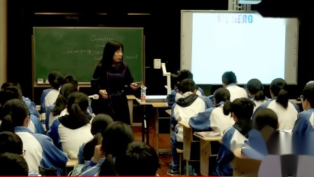 高中英语大赛《Writing My_Hero》课堂教学视频