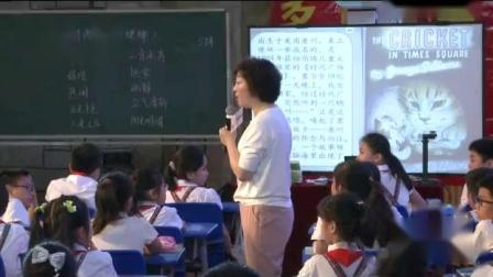 《时代广场的蟋蟀》小学语文四年级-语文教学交流活动视频-特级教师王文丽