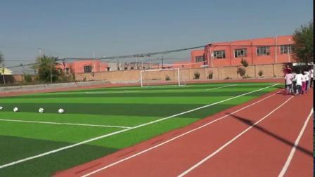 《小足球:脚内侧传球》科学版三年级体育,邹丽辉