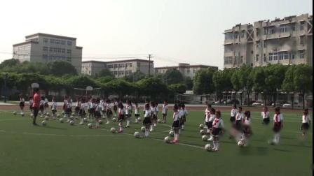 《小足球》北京版体育一年级,安徽省市级优课
