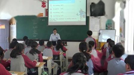 《Integrated skills》牛津译林版初中英语八下课堂实录-江苏常州市_钟楼区-张露茜