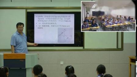 人教2011课标版数学九下-26.2《一次函数与反比例函数的结合》教学视频实录-候熠