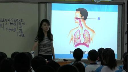 人教2011�n�税嫔�物七下-4.3.1《呼吸道��空�獾奶�理》教�W��l���-李��