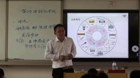 人教2011课标版物理九年级15.2《电流和电路》教学视频实录-李正坤