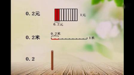 《小数的意义》苏教版小学数学四年级优质课比赛获奖公开课视频