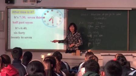 人教版英语七下Unit 2 Section B(Period One)教学视频实录(刘翠平)