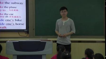 人教版英语七下Unit 3 Section A(1a-1c)教学视频实录(吉安市)