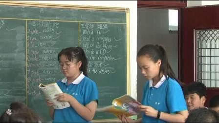 人教版英语七下Unit 6 Section A(1a-1c)教学视频实录(张彧)