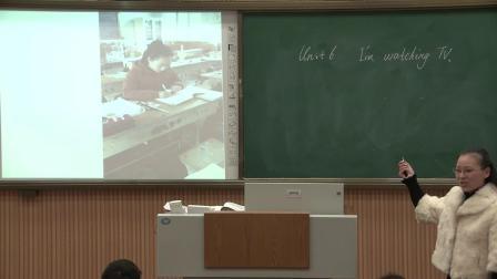 人教版英语七下Unit 6 Section A(1a-1c)教学视频实录(谢晶晶)