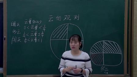 四年�上�钥�W�n堂��l���-1.6《云的�^�y》教科版-王文娟