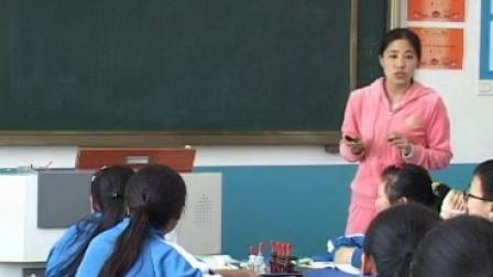 人教2011课标版生物七下-4.4.4《输血与血型》教学视频实录-刘宁宁