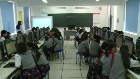 四年级下册信息技术视频课堂实录-编程中的美 通用版(杨萌萌)