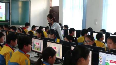 五年级下册信息技术视频课堂实录-应用动画 河大版(法艳君)