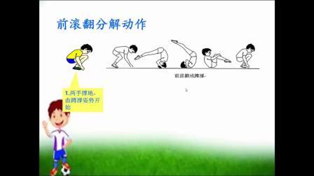 一年级体育与健康微课视频-前滚翻|人教版(李佳轩、黄爱宁)