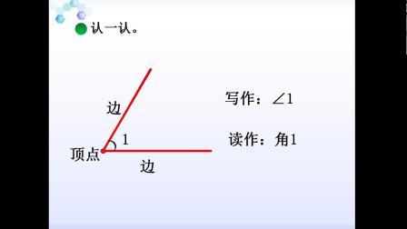 二年级下册数学微课视频-6.1认识角|北师大版(2014秋)(菊豆)