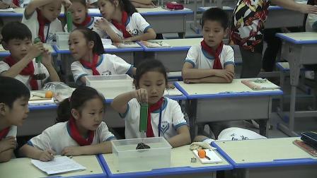 三年级下册科学视频课堂实录-4.3沉与浮|大象版(高喜红)