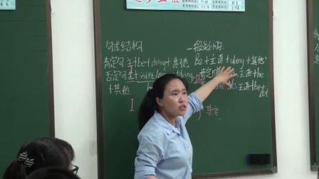 人教版英语七下Unit 6 Section B(Grammar)课堂视频实录(李亚鑫)