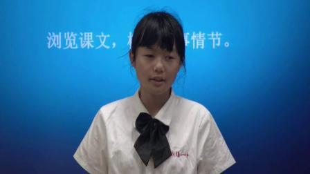 人教部编版语文七下第23课《带上她的眼睛》课堂教学视频 -刘伟